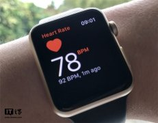 国外用户用苹果手表的 ECG 心电图发现房颤
