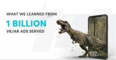 在展示超过10亿次AR/VR广告后,我们想告诉你三件事
