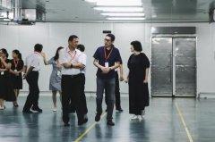 上海市人大常委会主任唐海东等领导莅临诺心考察
